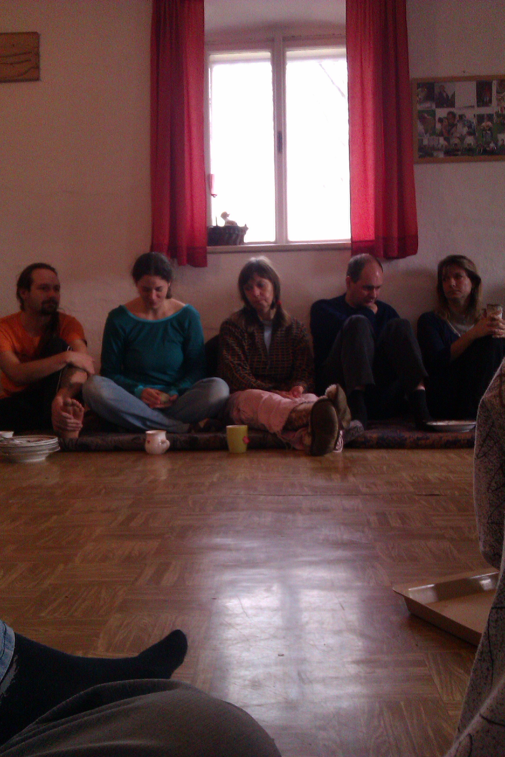 holotropí dýchání, listopad 2012